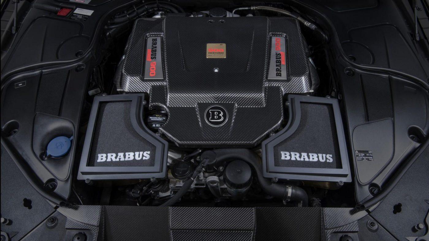 Brabus Rocket 900 Cabrio - motor