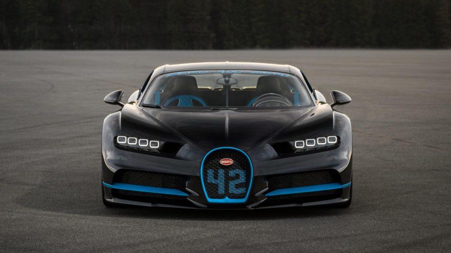 Bugatti Chiron 42 segundos dos 0-400-0 km/h