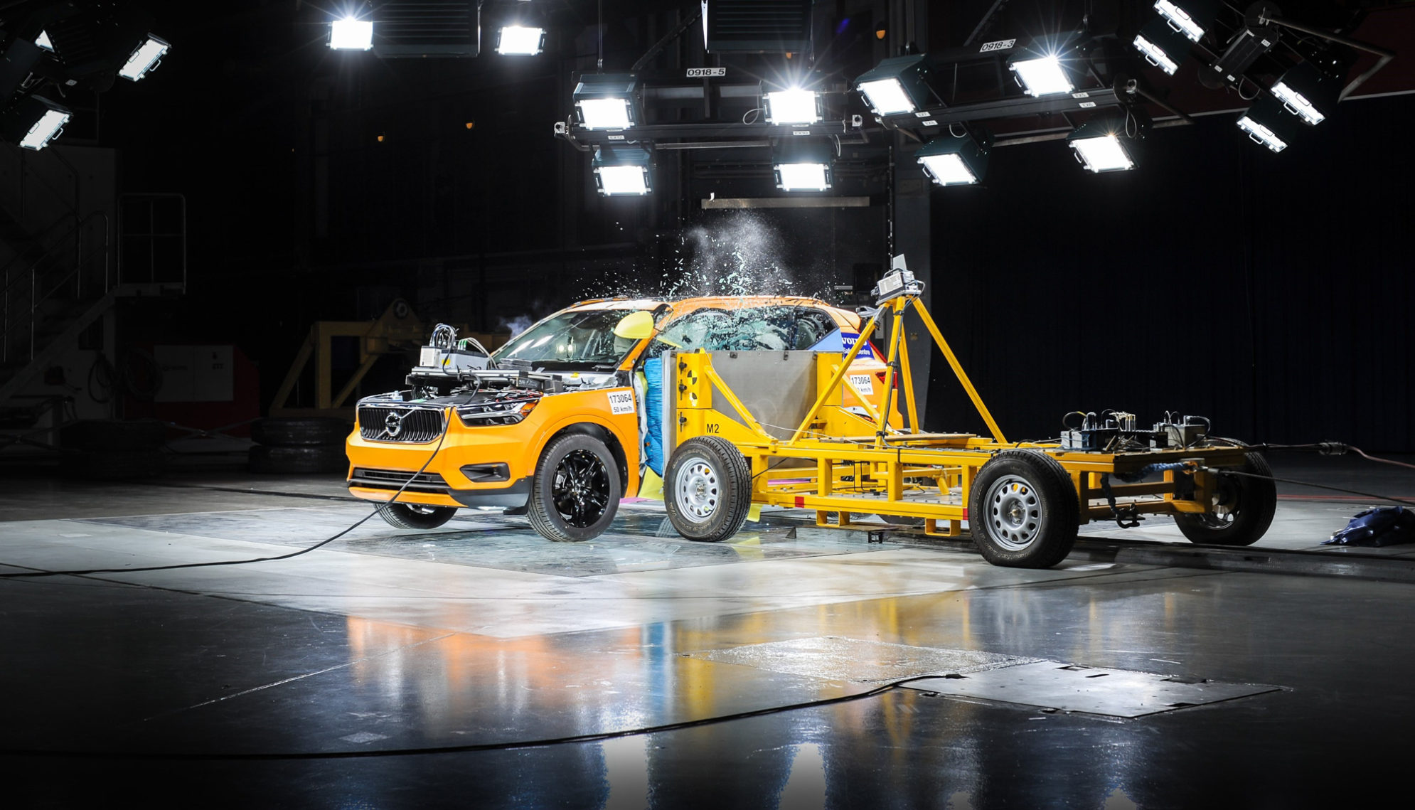 Volvo XC40 Crash test