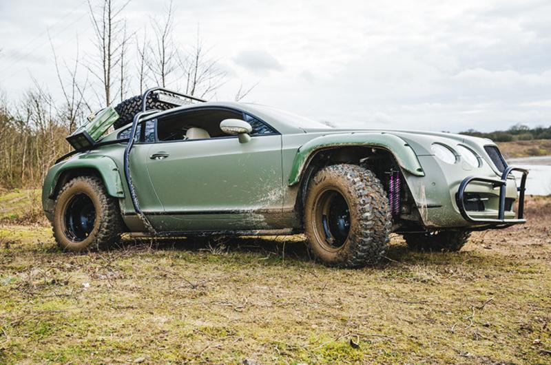 Bentley Continental GT Todo o terreno