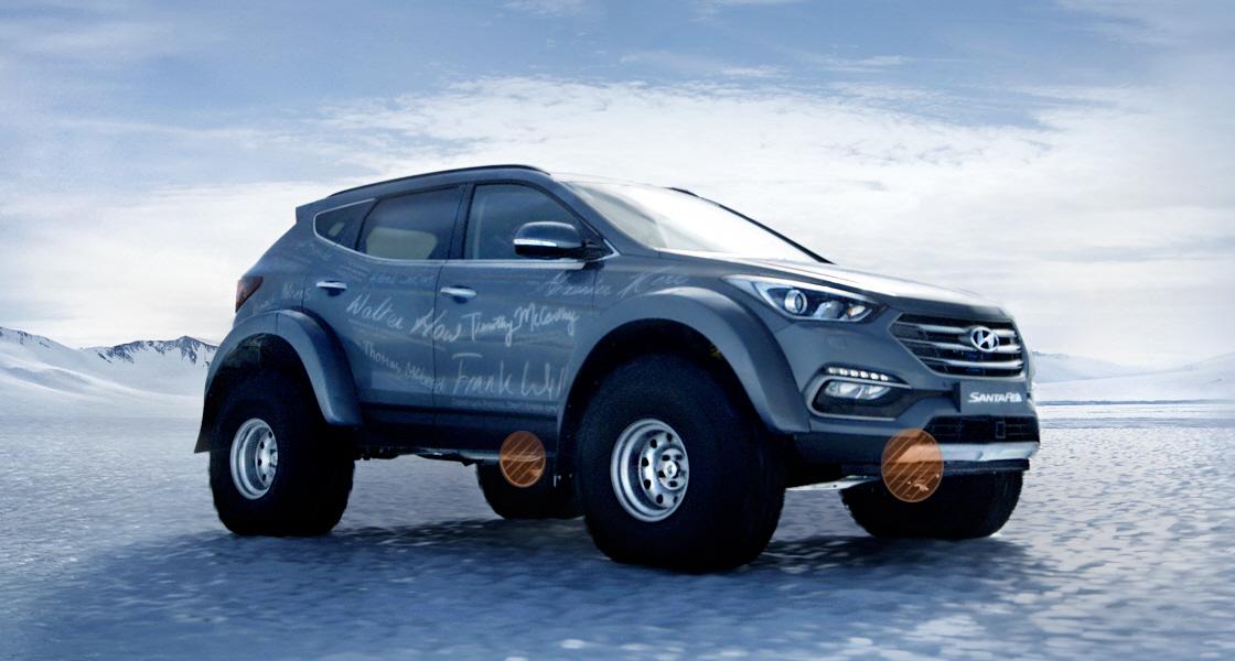 Hyundai Santa Fe - Eixos pórticos