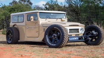 Toyota Land Cruiser Hot Rod
