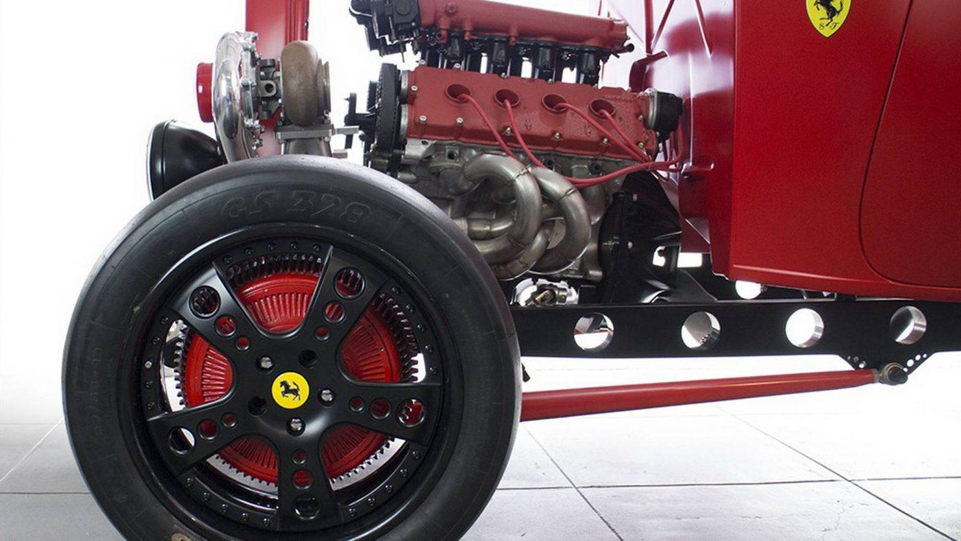 Hot Rod - Ford de 1932 com Ferrari V8 Twin Turbo