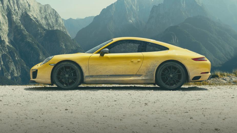 Nova versão mais leve do 911, eis o Carrera T