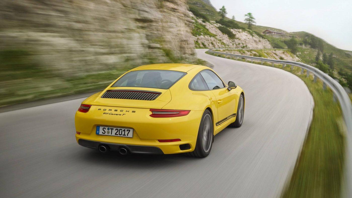 Novo Porsche 911 Carrera T — Menos é mais