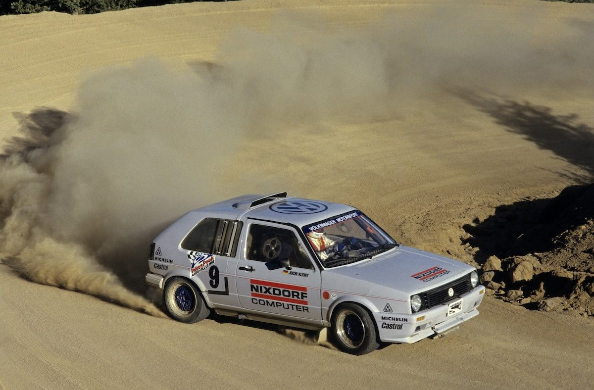 vw golf bimotor pikes peak