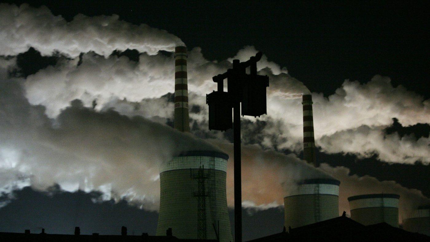 China, Central a Carvão