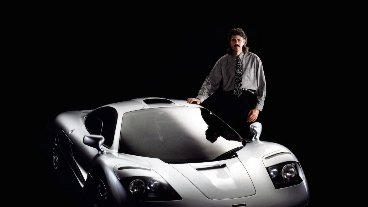 Gordon Murray com McLaren F1