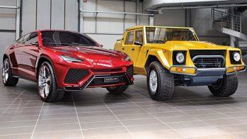 Lamborghini Urus concept com Lamborghini LM002