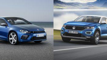Volkswagen Scirocco e Volkswagen T-Roc