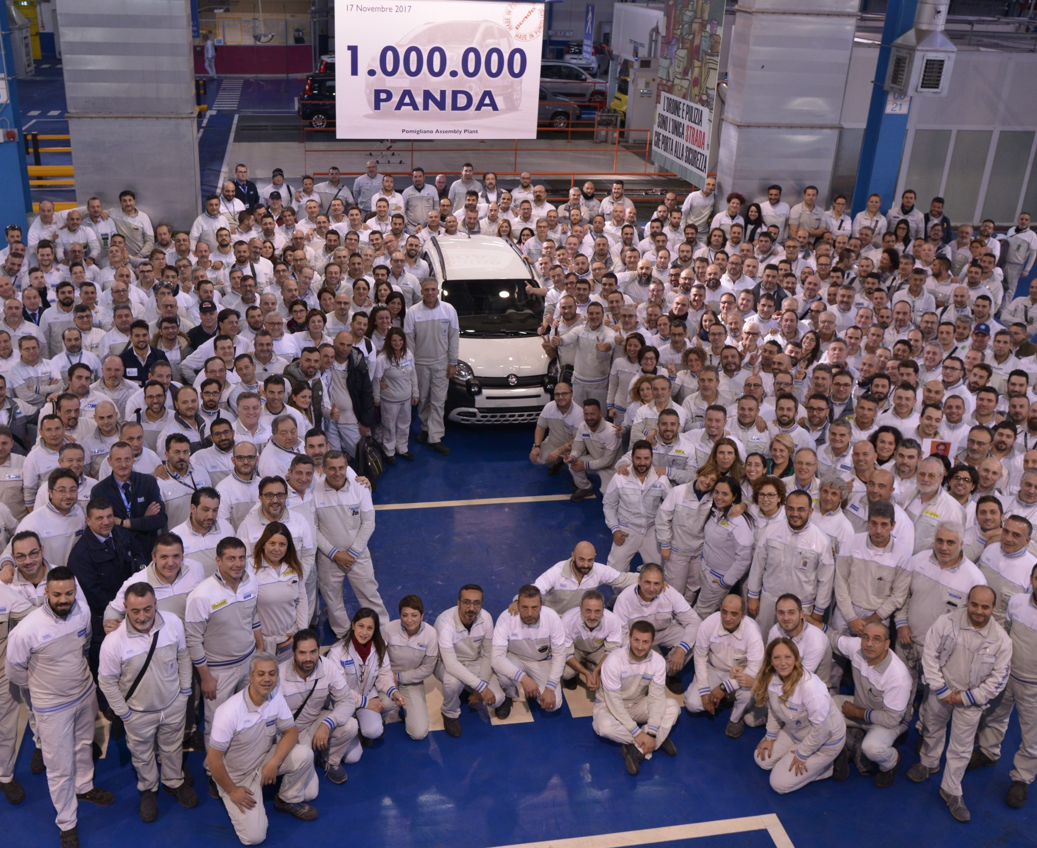Fiat Panda um milhão