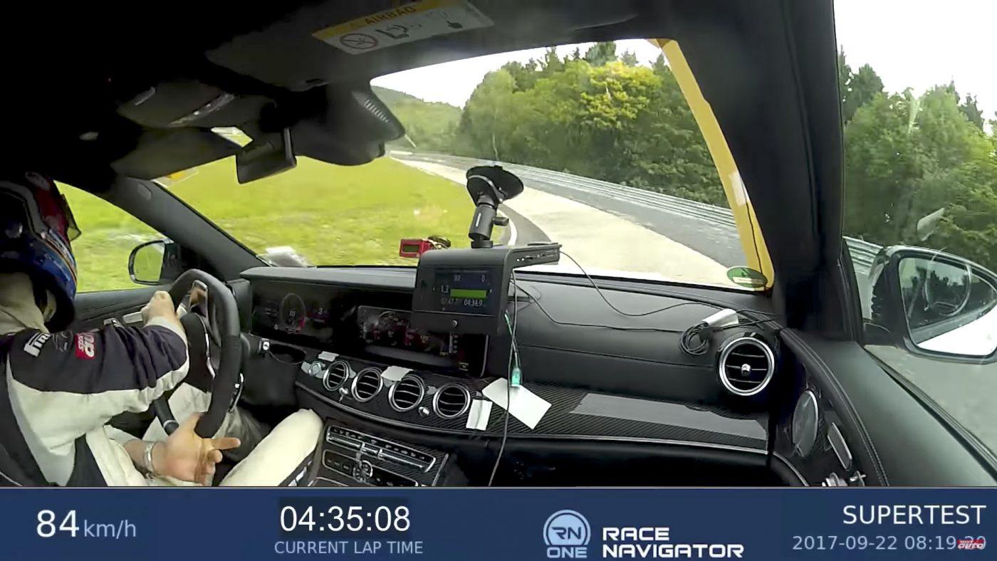 Mercedes-AMG E63 S 4Matic+ Nurburgring