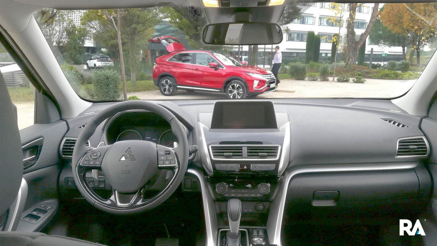 Mitsubishi Eclipse Cross — interior