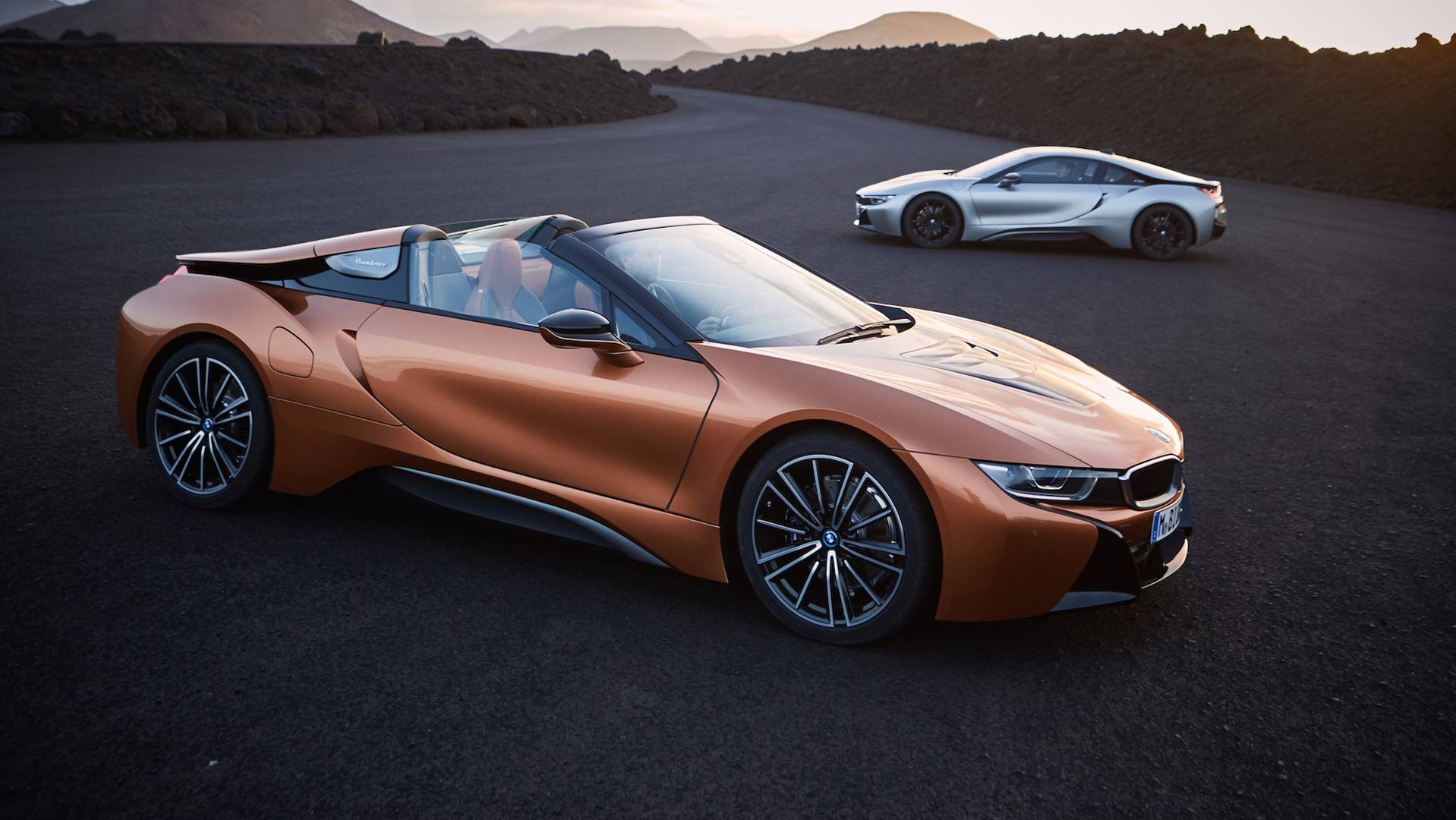 BMW i8 Roadster e i8 Coupe