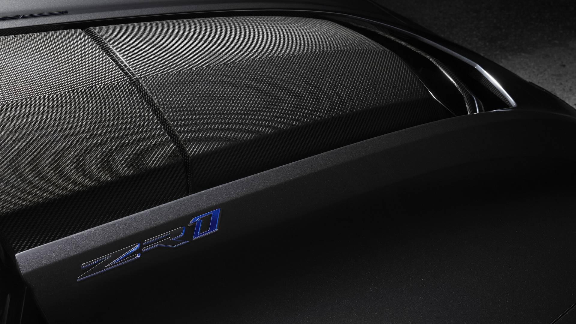 Chevrolet Corvette ZR1 - capot