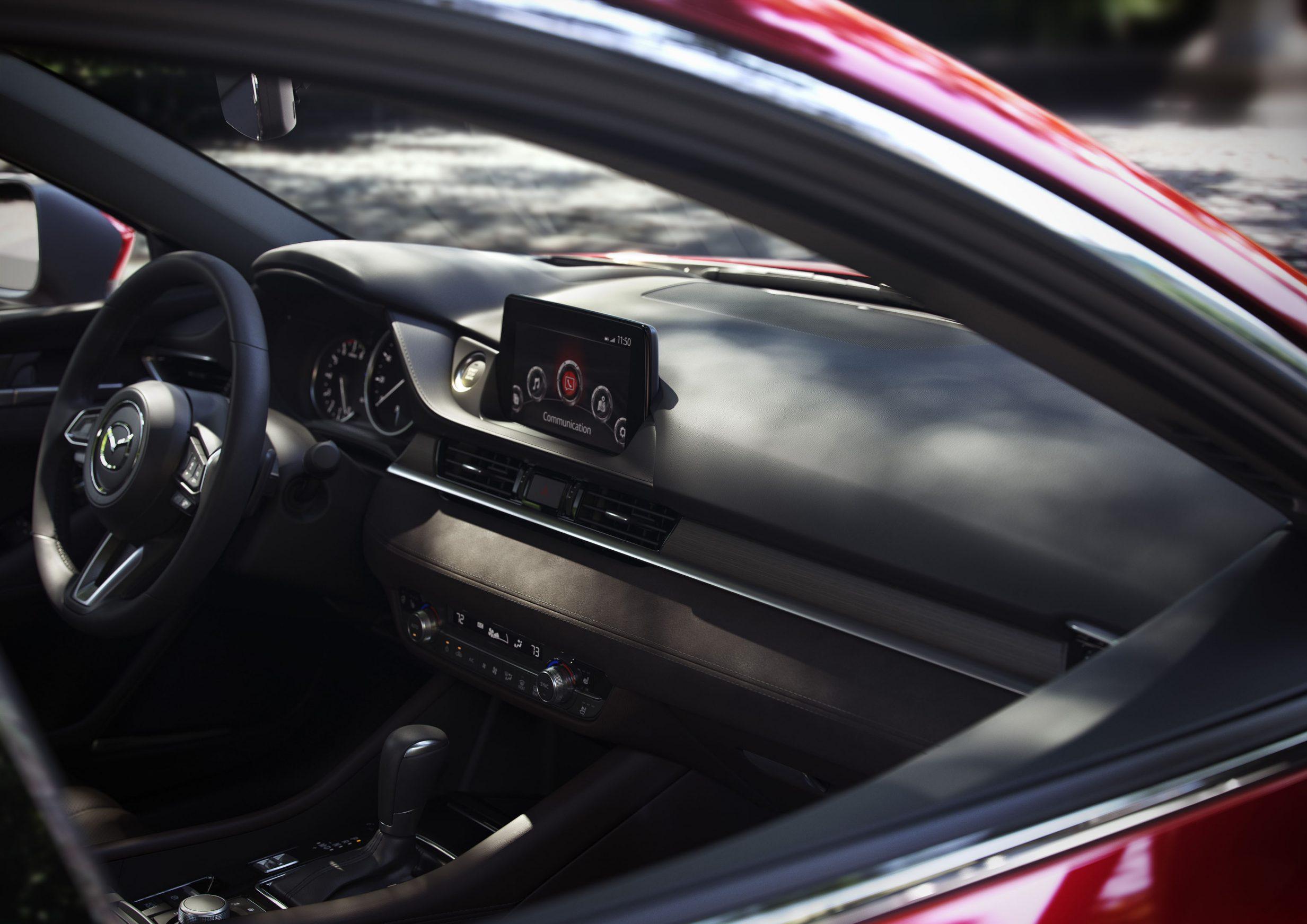 Mazda6 interior teaser