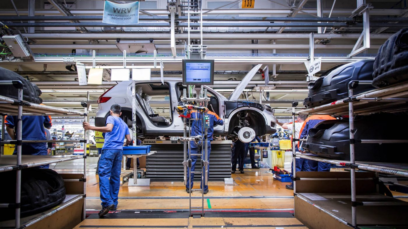 Volvo XC40 produção bélgica