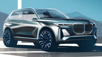 BMW X8 poderá derivar do BMW X7 iPerformance (render)