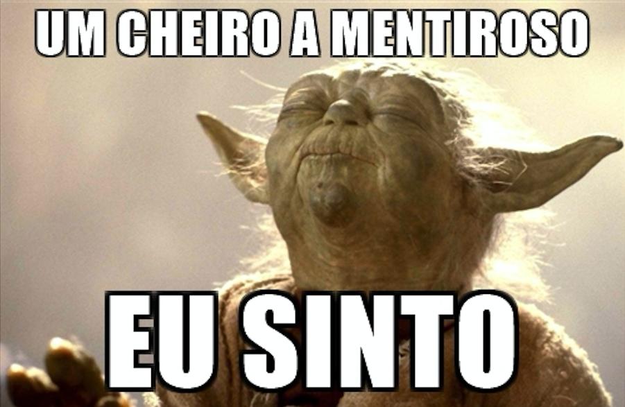Yoda cheira mentira
