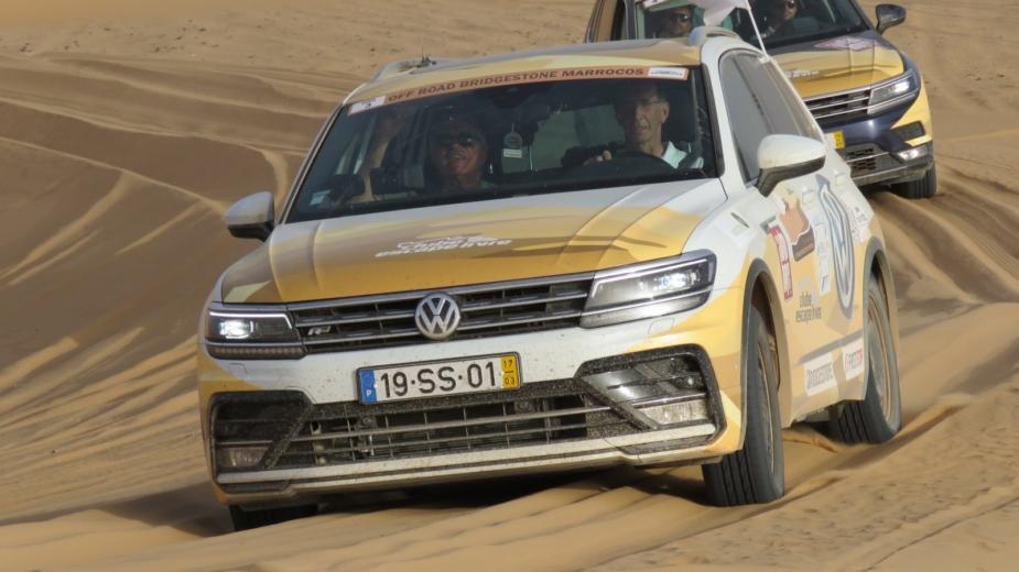 Volkswagen Tiguan Off Road Bridgestone Marrocos