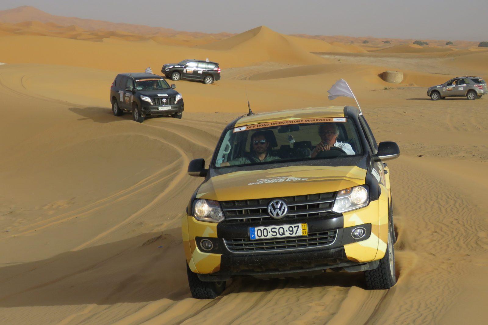 conduzir na areia marrocos