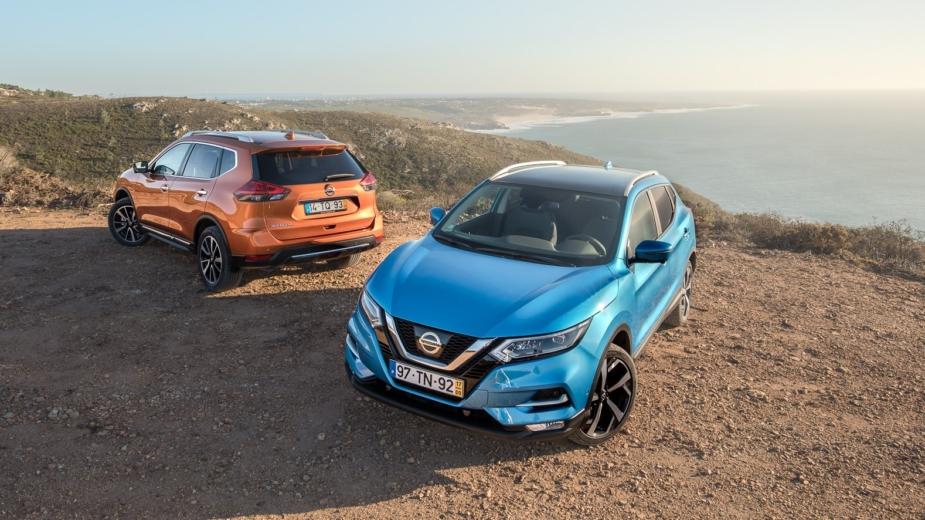 Nissan Crossover Domination - Nissan Qashqai e X-Trail no Cabo da Roca