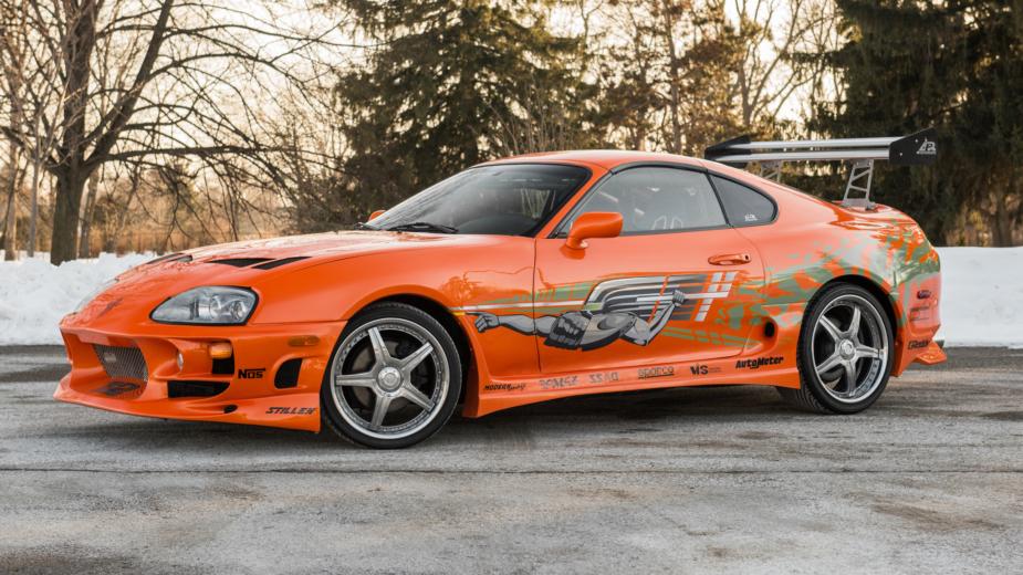 Toyota Supra 1993 Fast and Furious