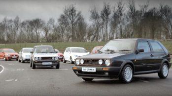 Volkswagen Golf GTI - todas as gerações