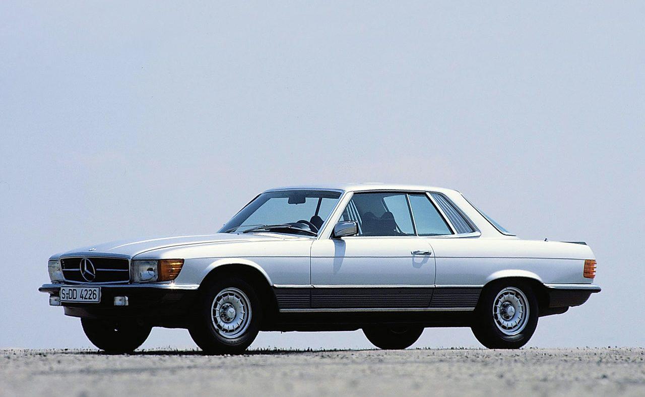 Clássicos Mercedes-Benz SLC