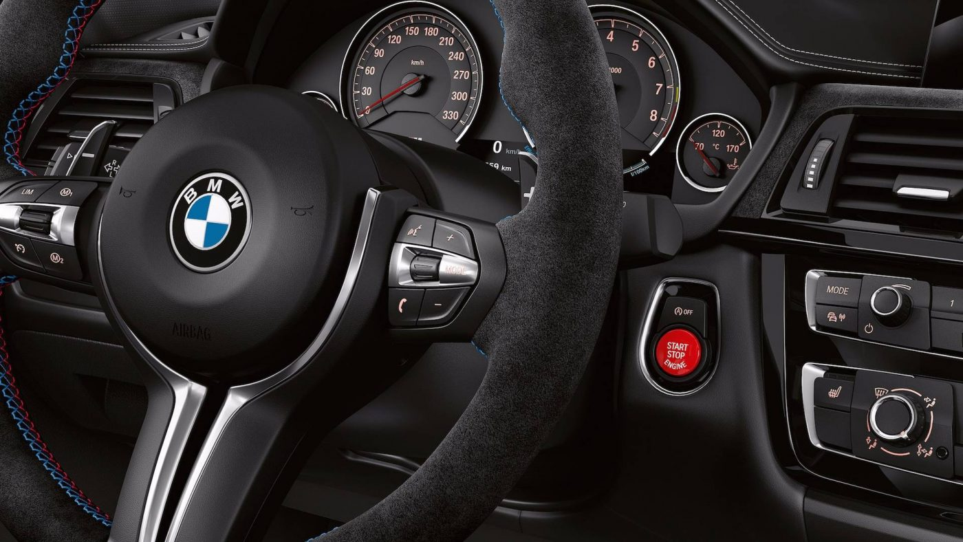 BMW M3 CS - pormenor interior