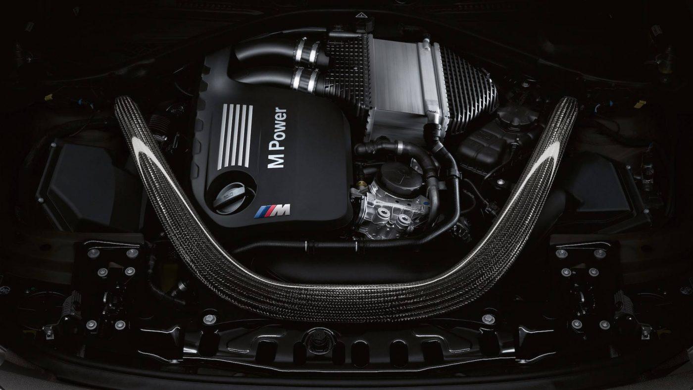 BMW M3 CS — motor