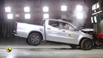 Mercedes-Benz Classe X —atinge cinco estrelas no Euro NCAP