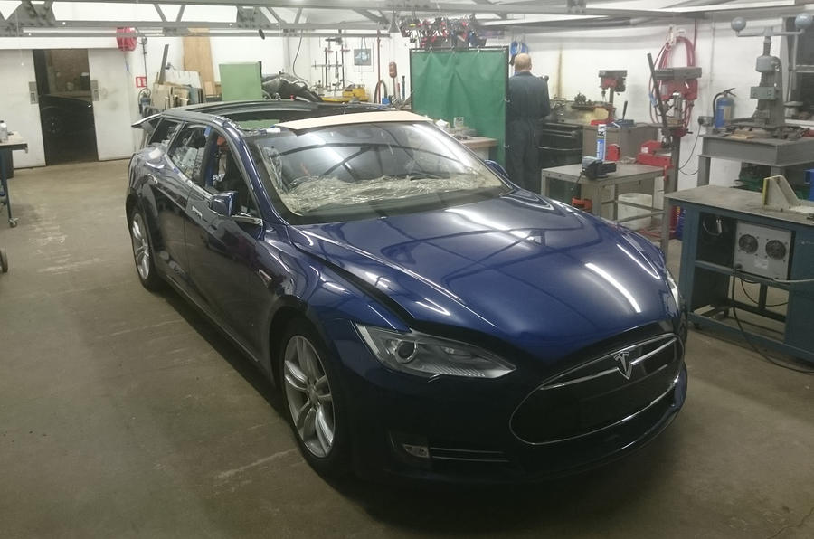 Tesla Model S Estate