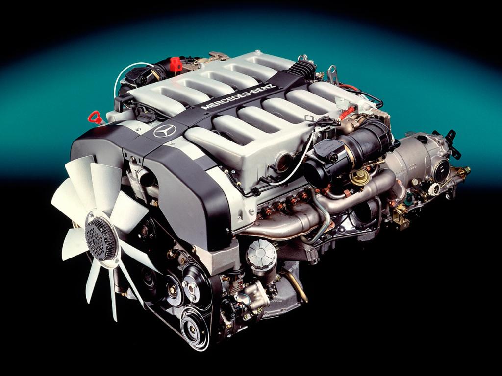 motor mercedes m120