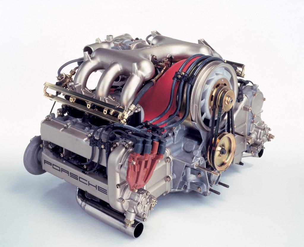Porsche 959 motor