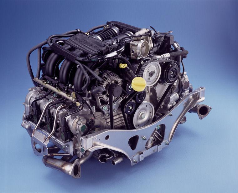motor porsche m96