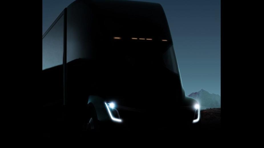 Camião da Tesla - teaser