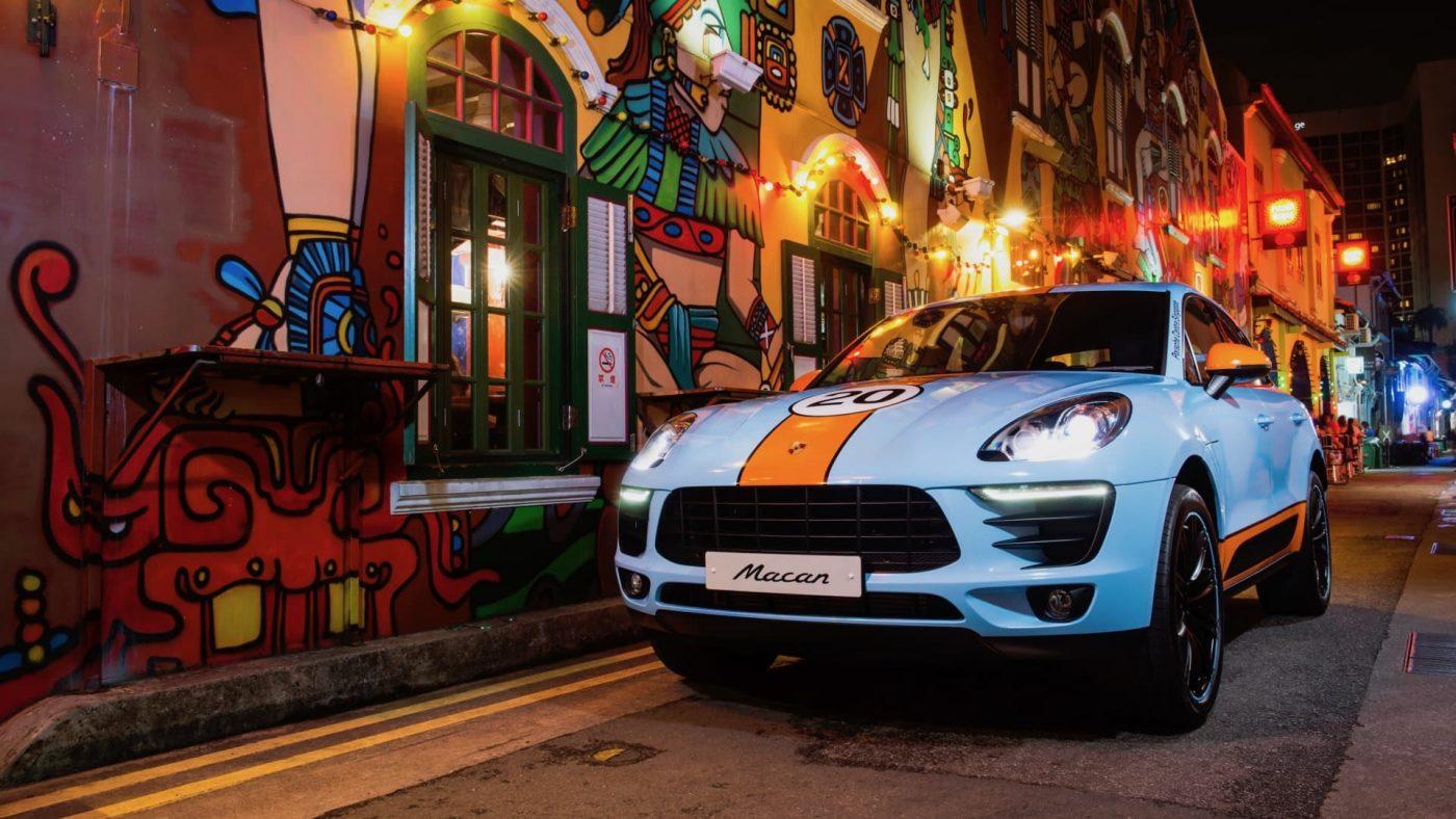 Porsche Macan Gulf 2017