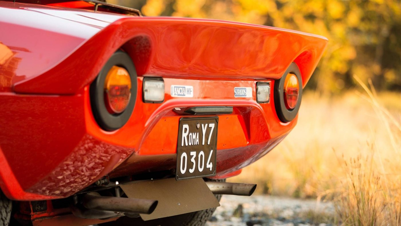 Lancia Stratos, 1974 — detalhe