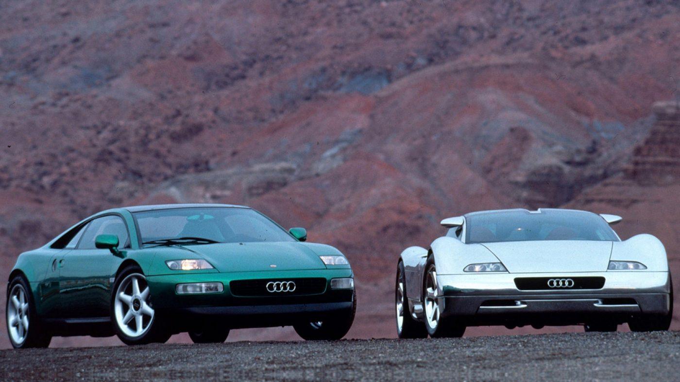 Audi Avus Quattro e Audi Quattro Spyder