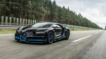 70 Bugatti Chiron entregues em 2017, o equivalente a 105 000 cavalos de potência