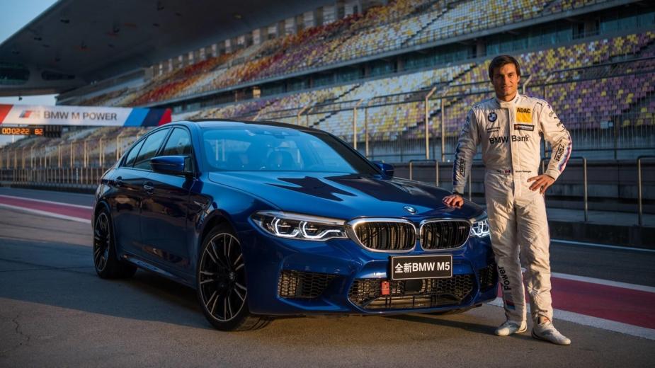BMW M5 Xangai 2017