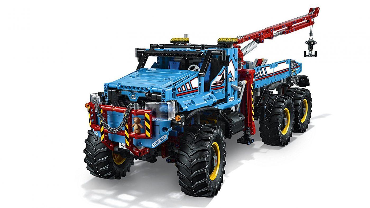 6x6 all terrain truck lego