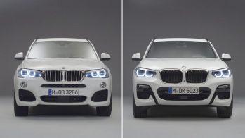 BMW X3 F25 e BMW X3 G01