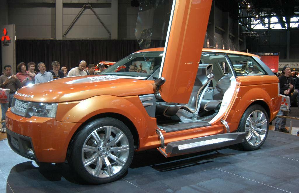 Land Rover Stormer Concept 2004