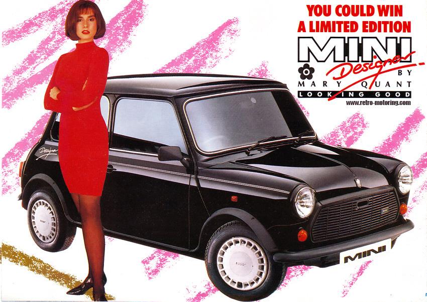 Mary Quant mini cooper