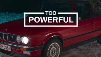 BMW M3 — anúncio de Natal