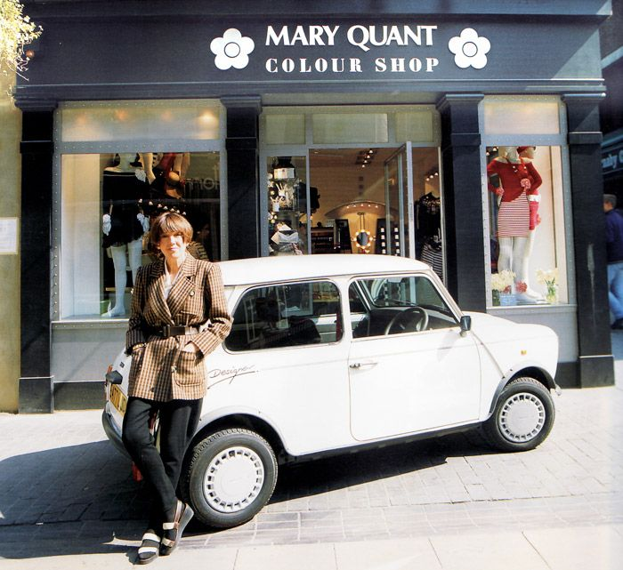 mini cooper mini saia mary quant