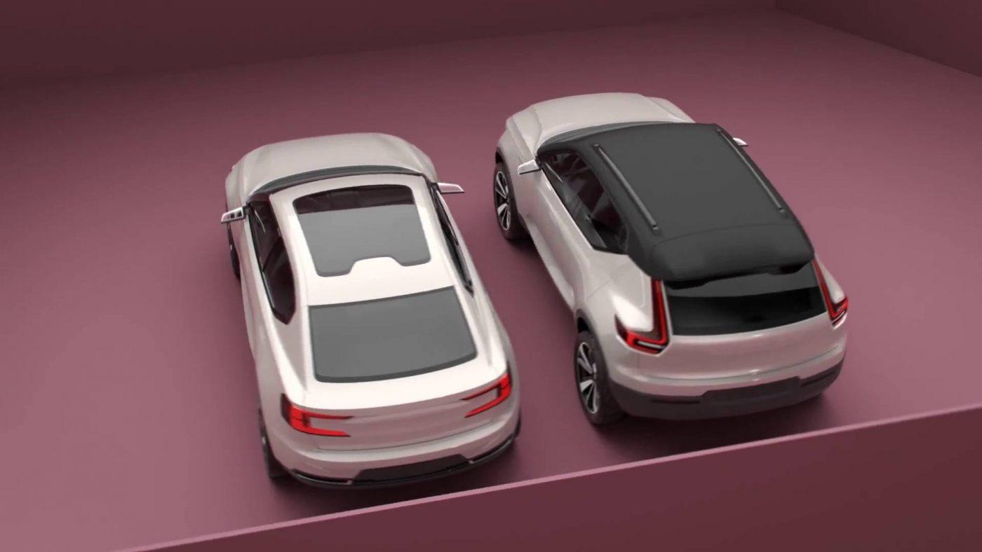 Volvo Concept 40.1 e 40.2
