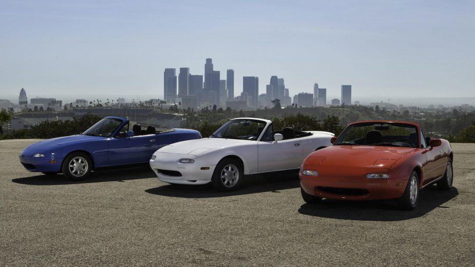 Mazda MX-5 NA — programa de restauro